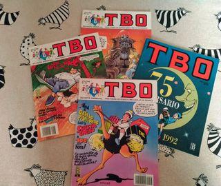 Pack 4 TBO año 88