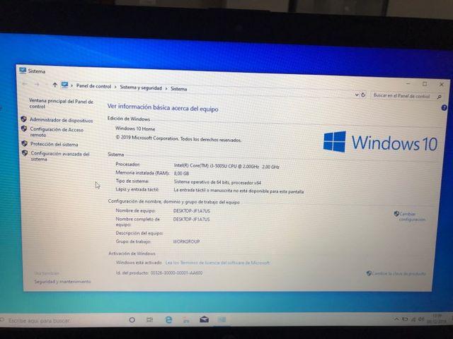 ordenador portatil HP i3