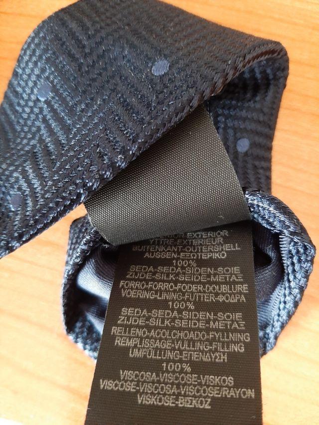 Corbata seda Massimo Dutti