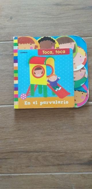 Libro toca toca bebe