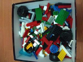 Lote 750 gramos piezas Lego COMPATIBLES