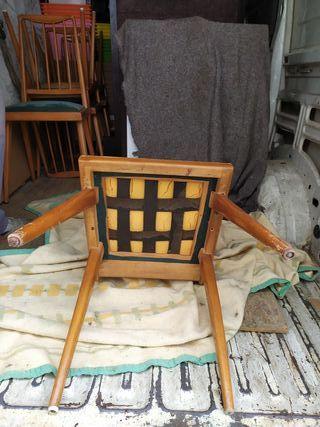 sillas madera antiguas