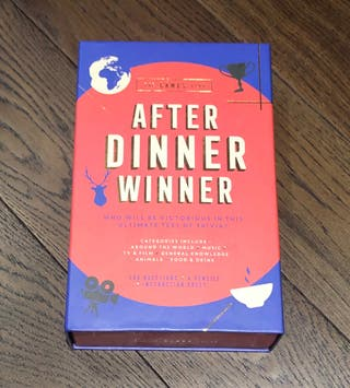 After Dinner Winner - Board Game