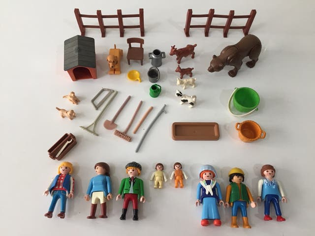 Playmobil Familia Granja