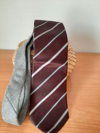 Corbata Zara seda y lana