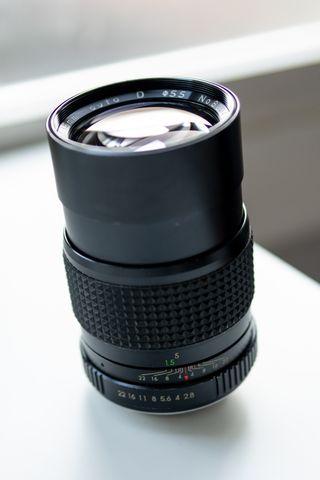 Porst 135mm f2.8 Tele MC Auto D en PERFECTO ESTADO