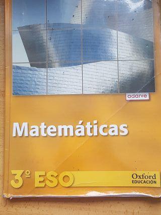 LIBROS DE 3° E.S.O,ed.OXFORD,5€!