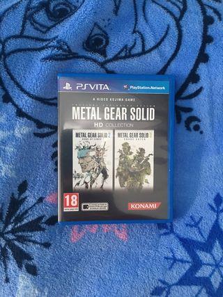 Metal Gear Solid HD Collection PSVita