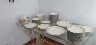 Vajilla de porcelana nueva