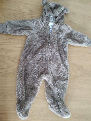 Buzo bebé oso talla 4-6 meses
