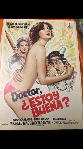 Cartel cine antiguo vintage
