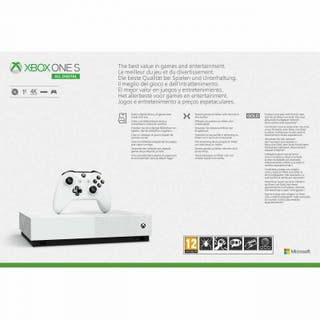 Xbox One S All Digital 1TB + 3 juegos PRECINTADA