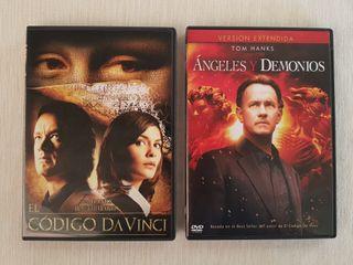 El Código Da Vinci y Ángeles y Demonios DVD