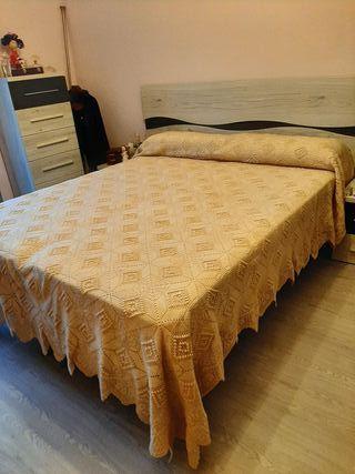 colcha de cama de matrimonio