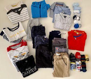 Lote ropa invierno 12-18 meses