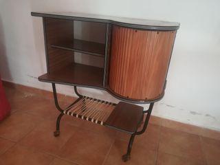 Mueble bar tv antiguo