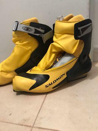 Botas ski de fondo combi SALOMON de segunda mano por 40 € en