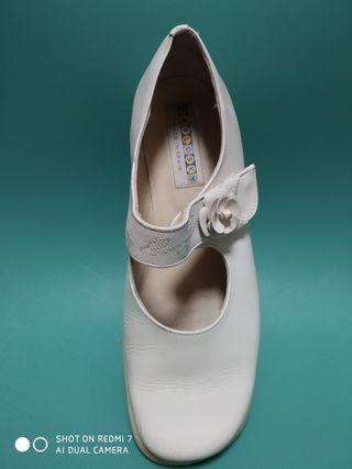 Zapatos niña crudo / Comunión