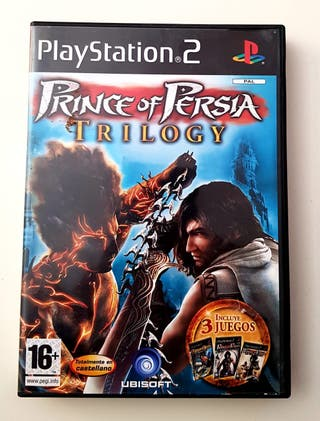 Prince Of Persia Trilogy - Ps2