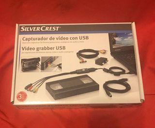 Capturadora de vídeo Silver Crest para PC