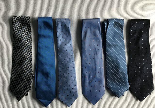 Corbatas de seda de hombre tonos azules