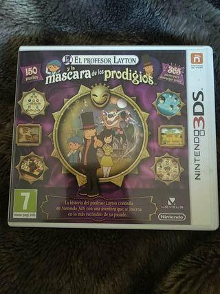 El profesor Layton Nintendo 3DS 2DS