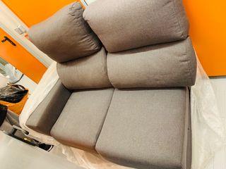 Sofa cheslong de tres plazas