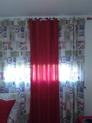 cortinas nuevas de hace una semana