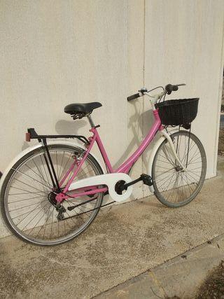 bicicleta rosa ,26'