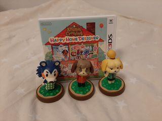 Juego Nintendo 3ds xl +tarjetas +lector+figuras