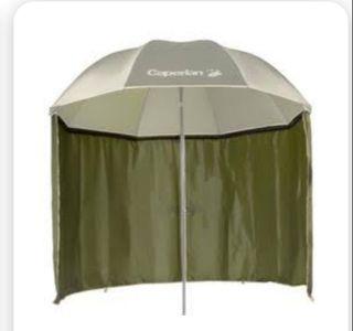 Sombrilla paraguas Carpfising y faldón