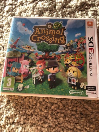 Juego Nintendo 3DS/2DS animal crossing new leaf.