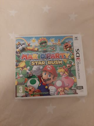 Juego Mario Party Nintendo 3ds xl