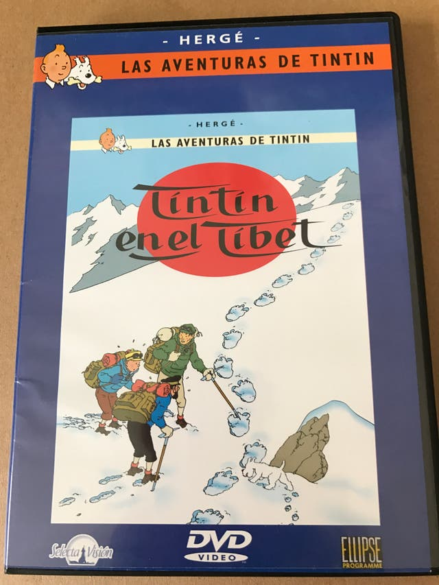 DVD Asterix y Tintín