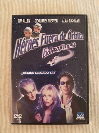 Héroes Fuera de Órbita DVD