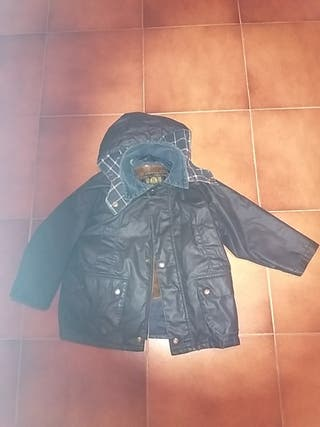 Barbour ingles con chaleco de pelo desmontable
