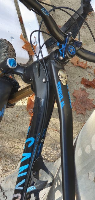 Bicicleta Canyon Strive al Race doble 27,5+