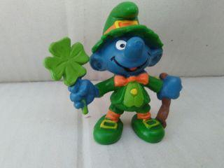 pitufo irlandes schleich 1982 peyo