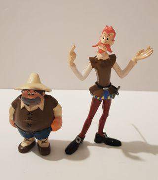 Figuras de Don Quijote y Sancho Panza año 1979