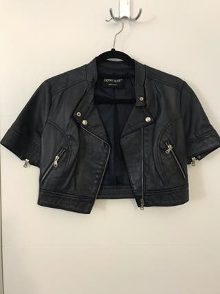 Denny rose leather jacket