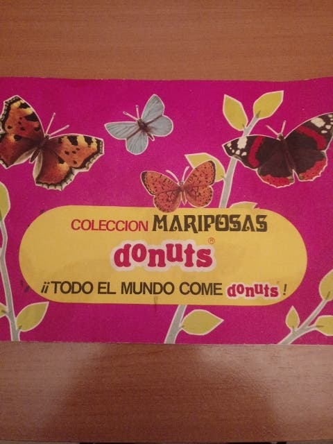 album mariposas donuts