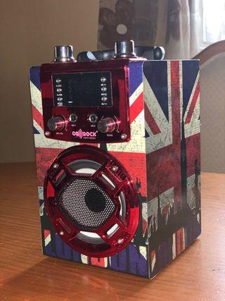 Altavoz Bluetooth & Karaoke