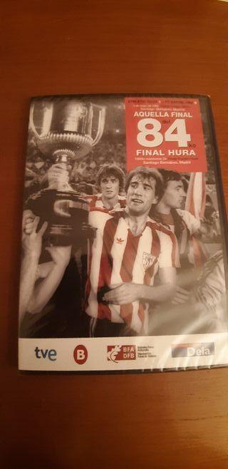 DVD Final copa del rey Athletic-Barcelona 84