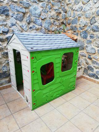 casita de jardín