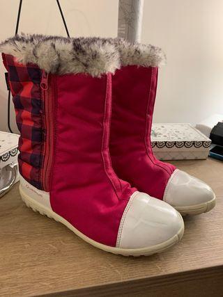 Botas apreski nieve talla 37