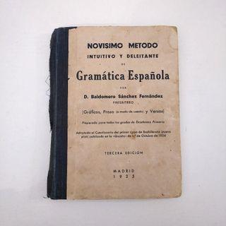 GRAMÁTICA ESPAÑOLA 1935