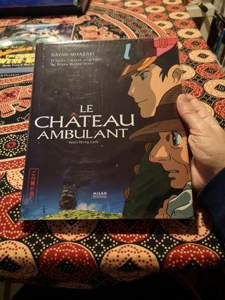 """Libro cuento """"El castillo ambulante"""" de Miyazaki"""