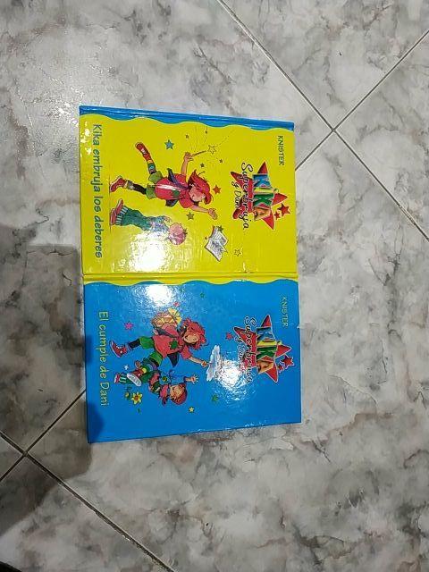 libros kika súper bruja y Dani