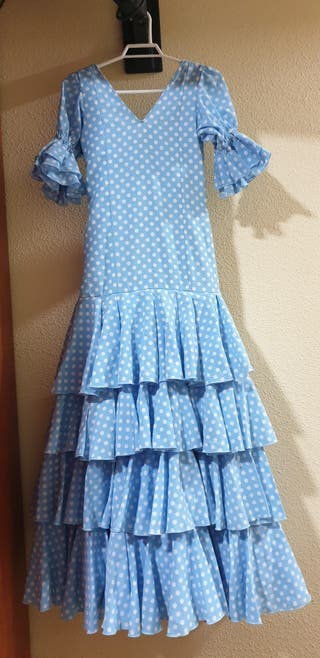 Vestido Sevillana talla 12-14. o 34.