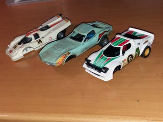 Scalextric original Exin lote coches